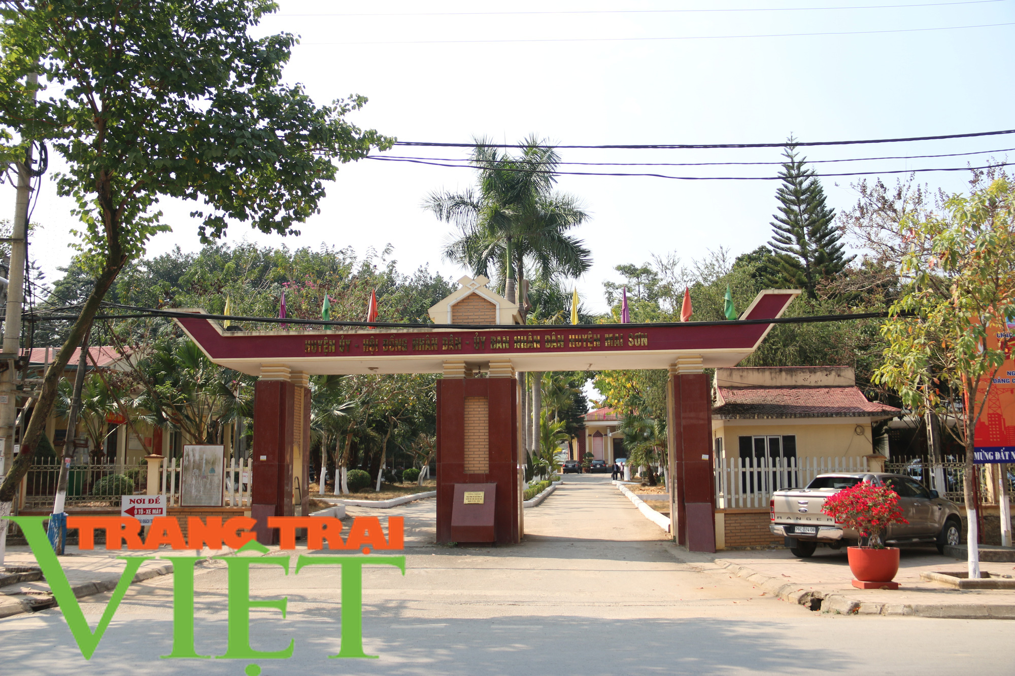 Ảnh: Mai Sơn đổi thay nhờ chương trình nông thôn mới - Ảnh 1.
