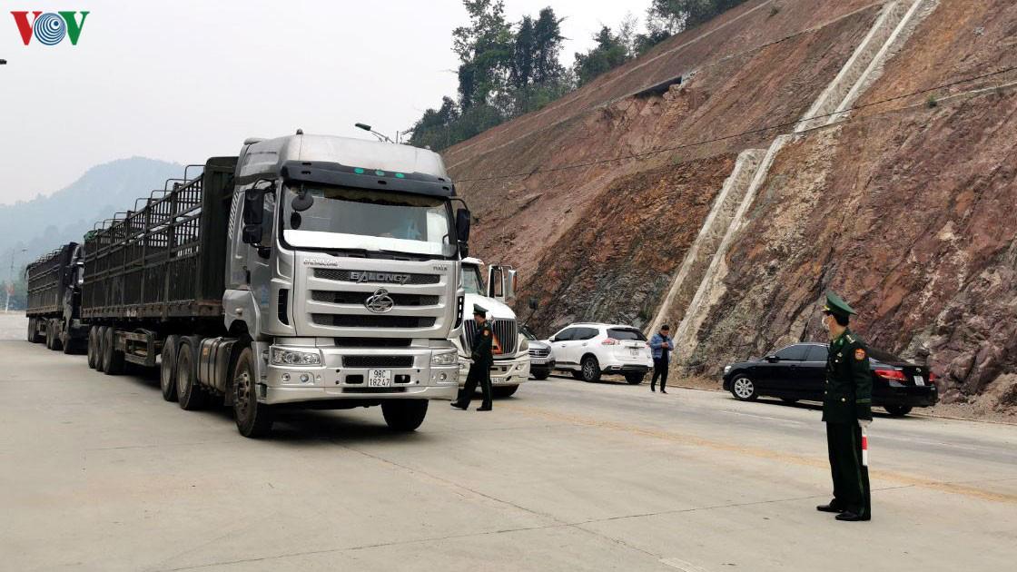 Thông quan xuất khẩu nông sản sang Trung Quốc có tiến độ chậm
