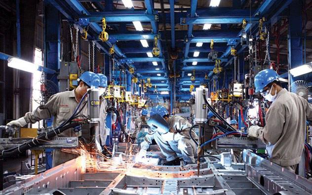 Dịch Covid-19 khiến sản xuất công nghiệp giảm 50% đà tăng