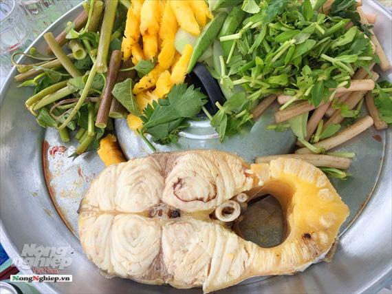 Tranh nhau mua cá bông lau giá nửa triệu đồng/kg - Ảnh 2.