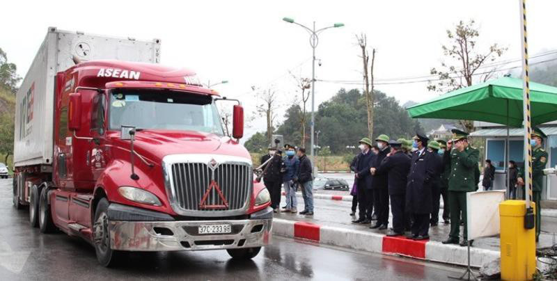 Ngày 10/2, cửa khẩu Tân Thanh dự kiến thông quan - Ảnh 1.