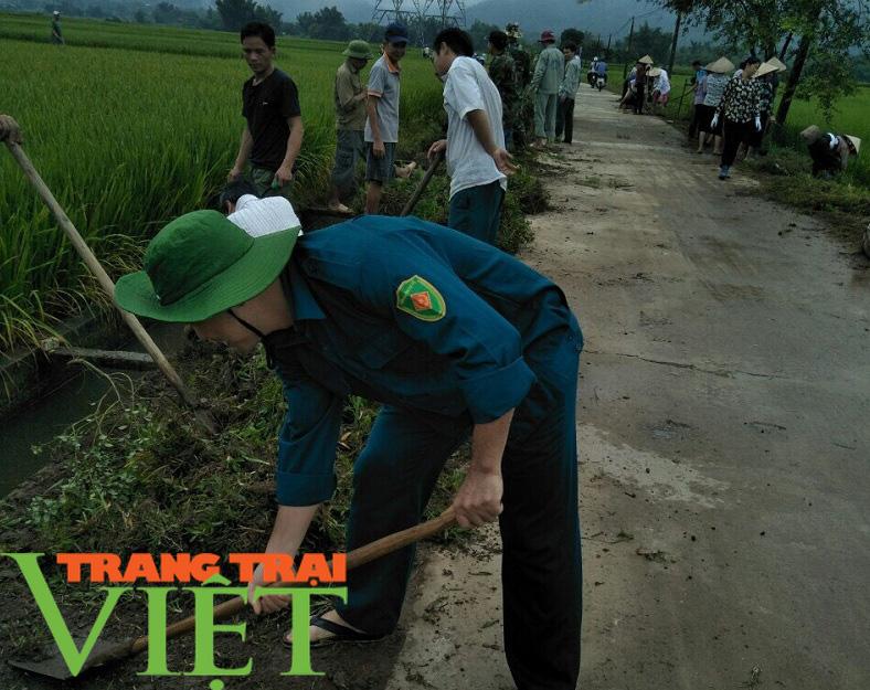 Hội Nông dân Tân Lạc hiến đất, góp công xây dựng nông thôn mới  - Ảnh 2.