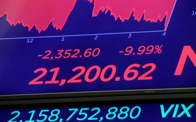 Chứng khoán Mỹ có phiên tồi tệ nhất kể từ lần sụp đổ năm 1987