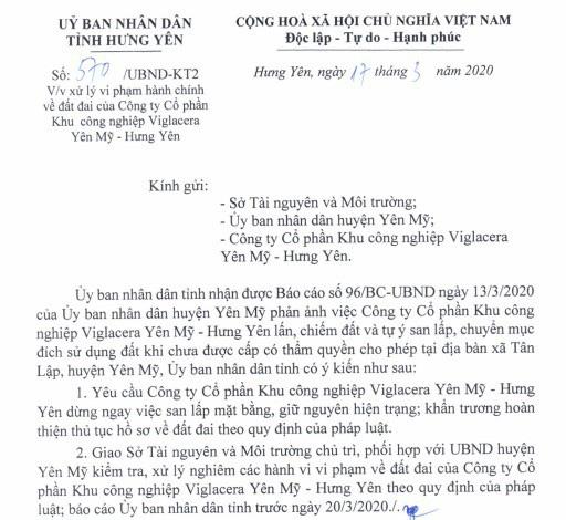 """Công ty con của ông chủ 8x Nguyễn Văn Tuấn bị tỉnh Hưng Yên """"tuýt còi"""" - Ảnh 2."""