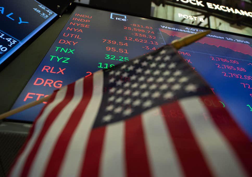 Dow Jones bốc hơi 225 điểm khi Mỹ công bố dữ liệu GDP tệ nhất mọi thời đại - Ảnh 1.
