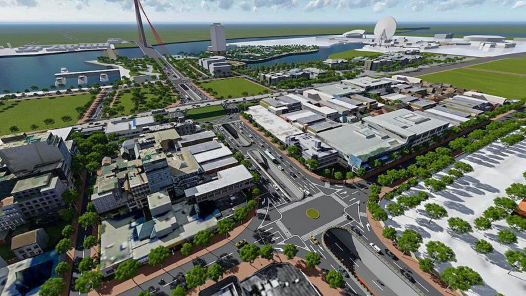 Đà Nẵng khởi công nút giao thông 3 tầng hơn 723 tỷ đồng - Ảnh 2.