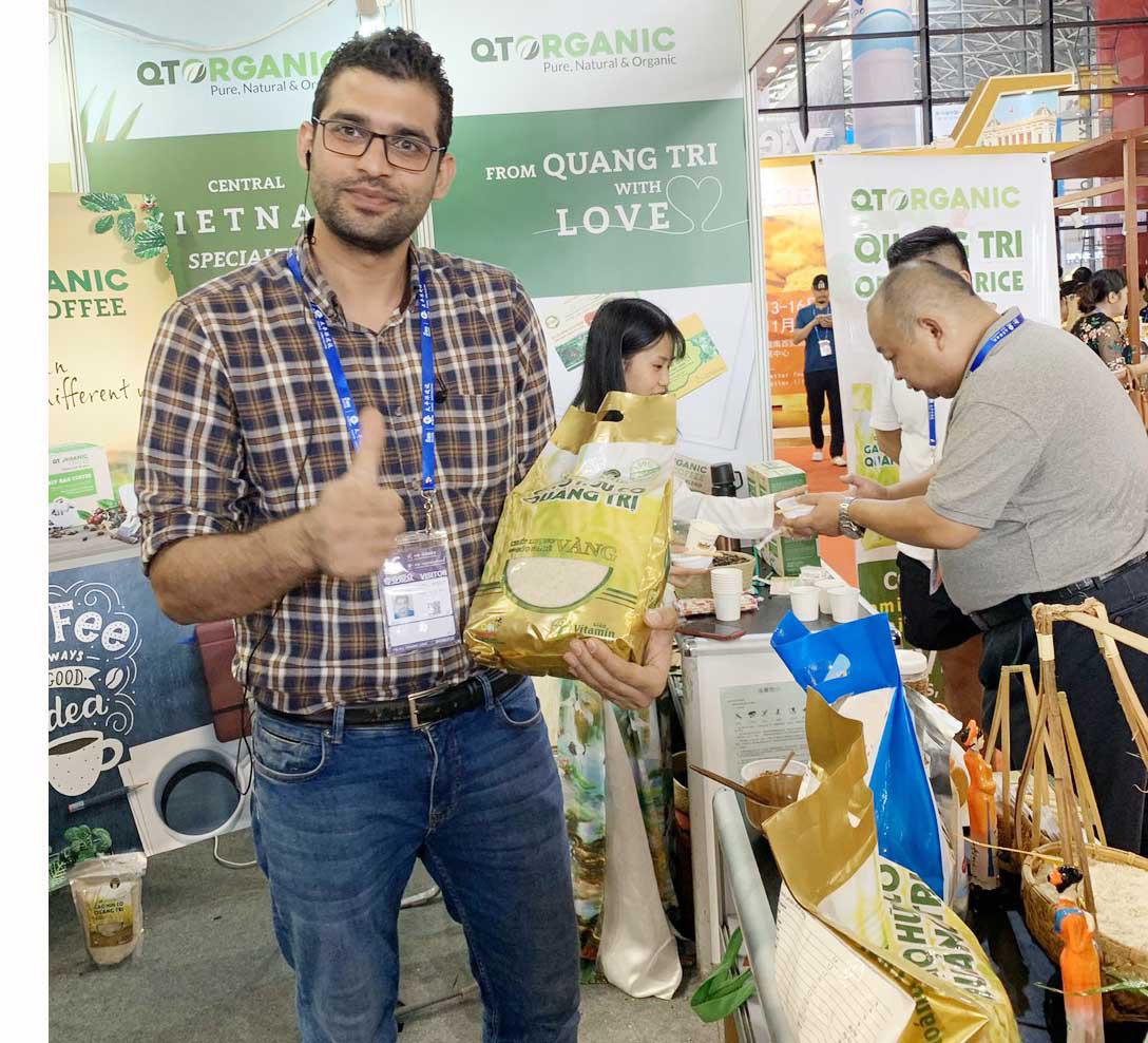 Nông nghiệp hữu cơ Quảng Trị- cho đất nở hoa: DN đồng hành cùng nông dân - Ảnh 1.