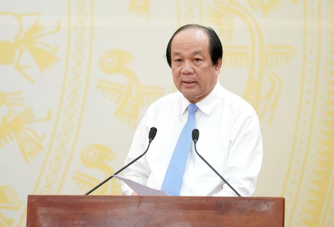Bộ trưởng, Chủ nhiệm Văn phòng Chính phủ Mai Tiến Dũng. Ảnh: VGP.