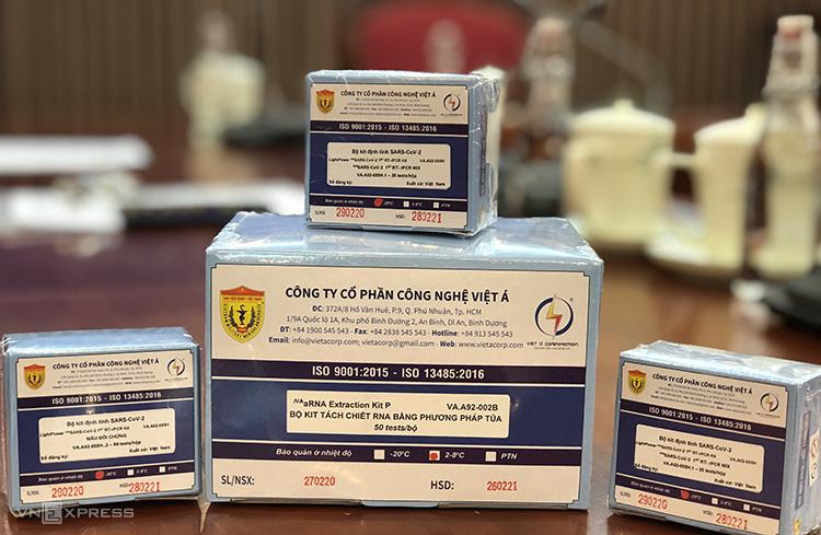 Chân dung DN sản xuất bộ kit phát hiện Covid-19, chuẩn WHO 8.000 đồng/test - Ảnh 1.