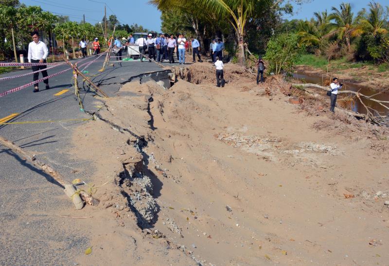 Hạn mặn chưa từng thấy, 5 tỉnh miền Tây công bố tình huống khẩn cấp - Ảnh 3.