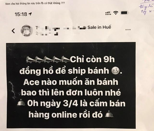 Không có việc người bán hàng online trong dịch Covid – 19 bị xử phạt - Ảnh 1.