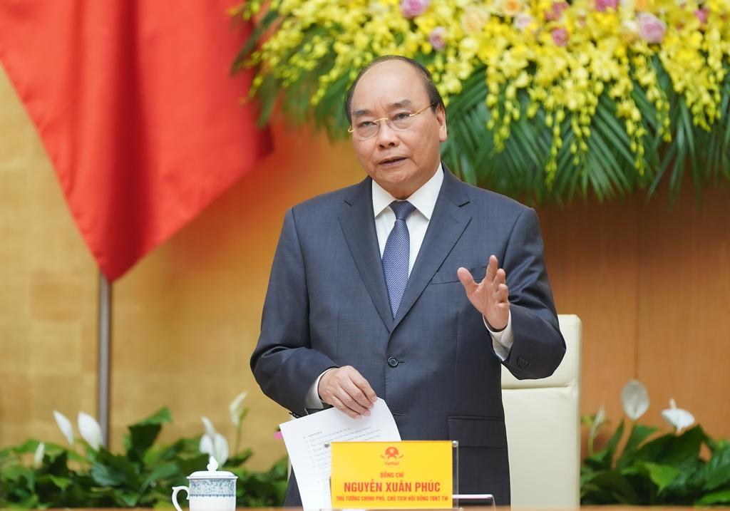 """Thủ Tướng: """"Thúc đẩy nền kinh tế bật mạnh sau khi kết thúc dịch"""" - Ảnh 1."""