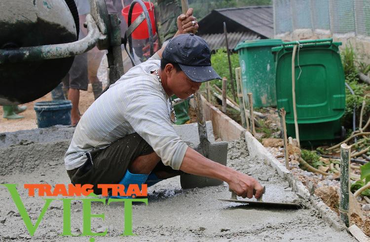 Người dân Yên Châu góp công, hiến đất xây dựng nông thôn mới - Ảnh 5.