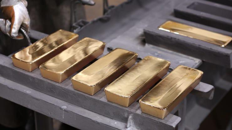 Giá vàng hôm nay 14/4 chững lại, không tăng tốc như kỳ vọng - Ảnh 1.