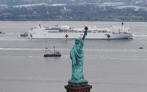New York trở thành tâm dịch virus corona ở nước Mỹ