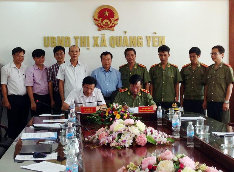 Trung tâm HLQG về phòng chống khủng bố ở Quảng Ninh: Vẫn vướng mặt bằng - Ảnh 1.