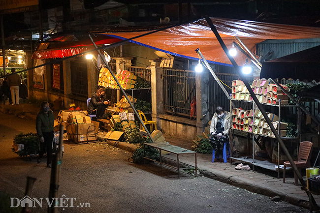 Chợ hoa lớn nhất miền Bắc ế ẩm, người bán buồn bã co ro vì lạnh - Ảnh 14.