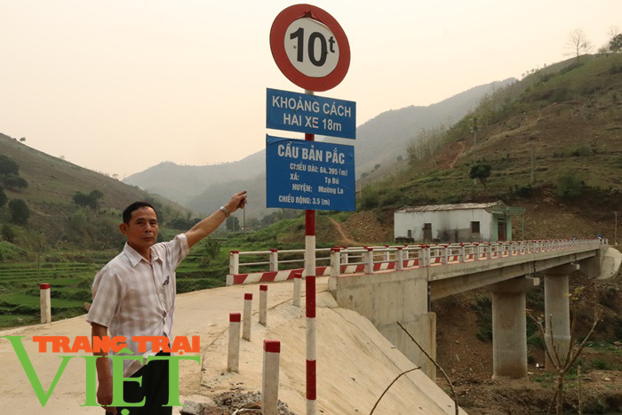 Nông thôn mới Sơn La: Lan tỏa phong trào hiến đất làm đường ở Tạ Bú - Ảnh 6.