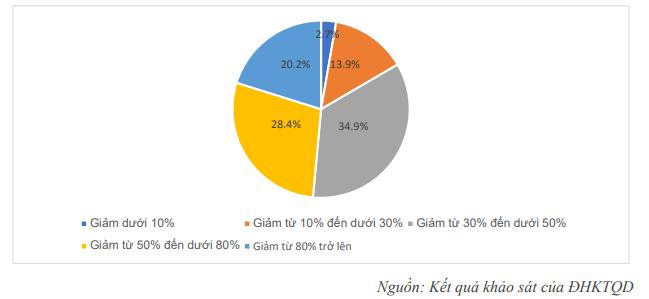 Chỉ còn 14,9% doanh nghiệp duy trì được hoạt động nếu dịch Covid-19 kéo dài đến hết tháng 6/2020 - Ảnh 1.