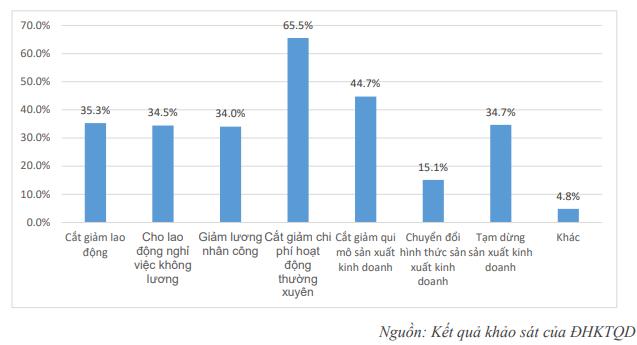 Chỉ còn 14,9% doanh nghiệp duy trì được hoạt động nếu dịch Covid-19 kéo dài đến hết tháng 6/2020 - Ảnh 3.