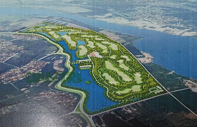 Bộ Tài chính ý kiến về nhà đầu tư muốn làm sân golf cạnh sông Đuống - Ảnh 2.