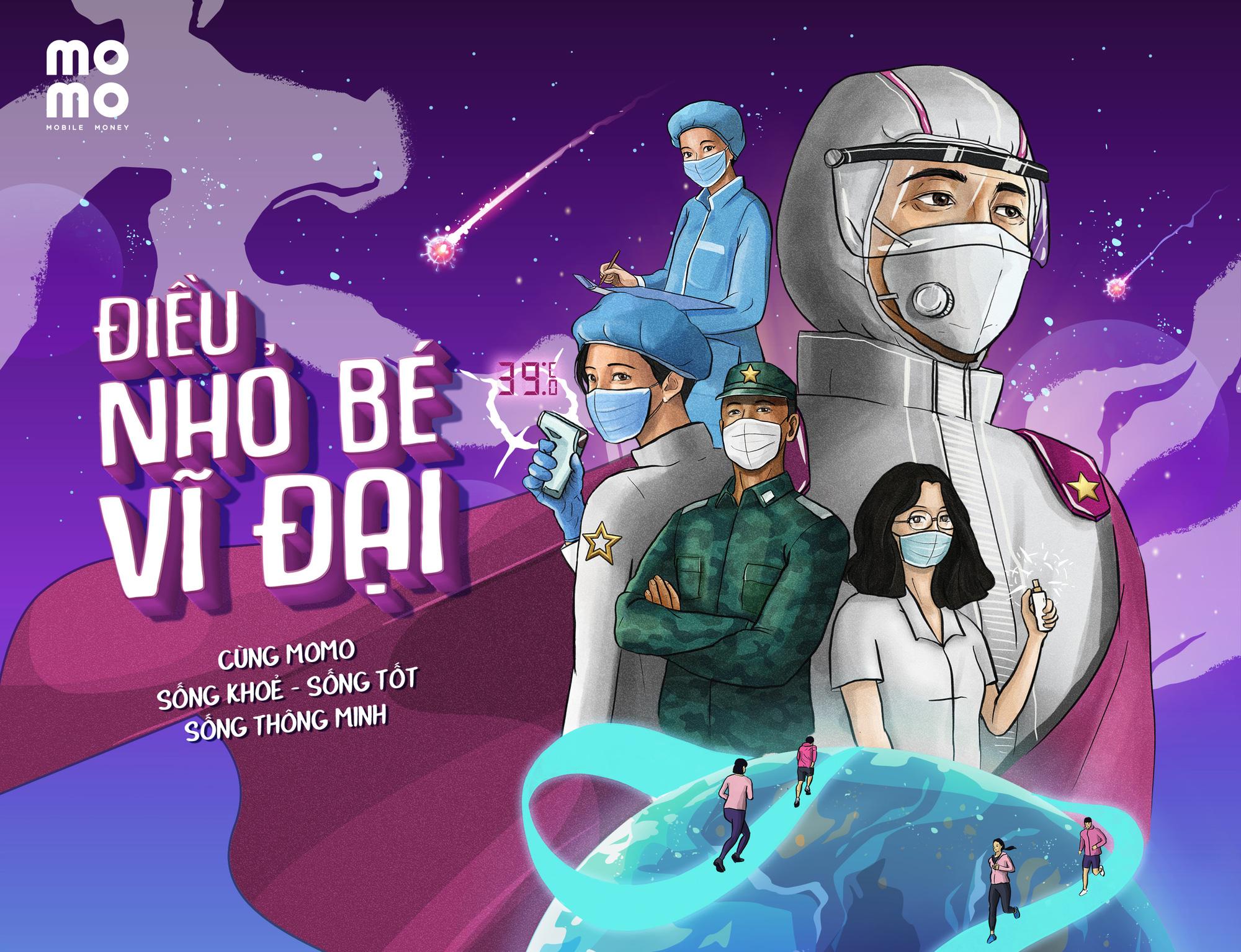 """MoMo triển khai chiến dịch """"Điều nhỏ bé vĩ đại"""" tiếp sức y bác sĩ tuyến đầu chống dịch Covid-19 - Ảnh 1."""