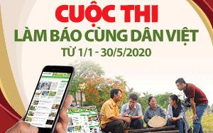Bài đạt giải chất lượng Làm báo cùng Dân Việt tháng 3/2020