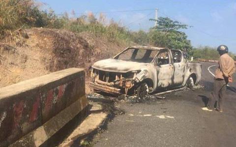Nạn nhân nghi bị Bí thư Đảng uỷ xã sát hại trong vụ cháy xe ô tô là cháu vợ