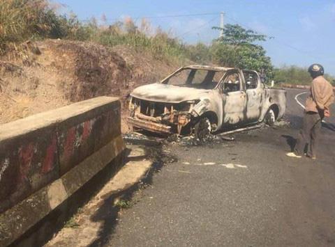 Nạn nhân nghi bị Bí thư Đảng uỷ xã sát hại trong vụ cháy xe ô tô là cháu vợ - Ảnh 4.