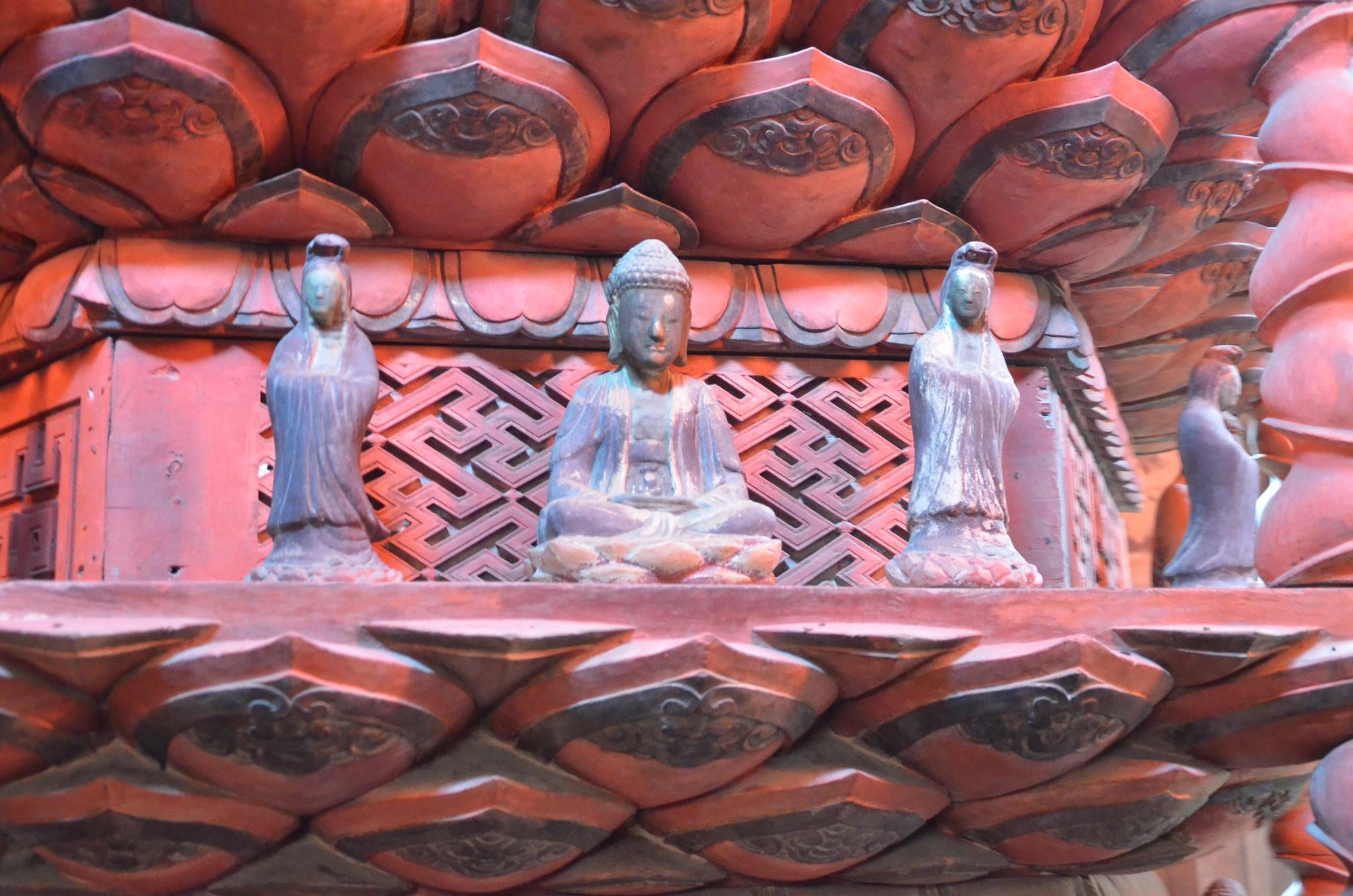 """Về chùa Giám Hải Dương chiêm ngưỡng """"báu vật"""" quốc gia từ cuối thế kỷ 17, chỉ có duy nhất ở Việt Nam  - Ảnh 6."""