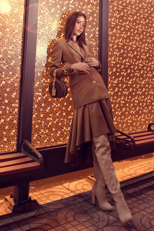 Vừa hết cách ly, Nam Anh diện đồ high fashion ai nhìn cũng chết mê - Ảnh 9.