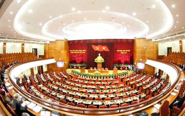 Khai mạc trọng thể Hội nghị lần thứ 12 BCH Trung ương Đảng - Ảnh 1.