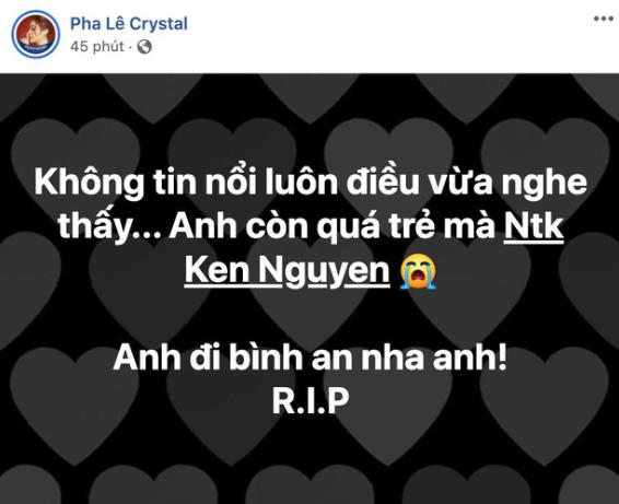 NTK Ken Nguyễn đột ngột qua đời ở tuổi 41 khiến Đàm Vĩnh Hưng, Hari Won bàng hoàng, xót xa - Ảnh 5.
