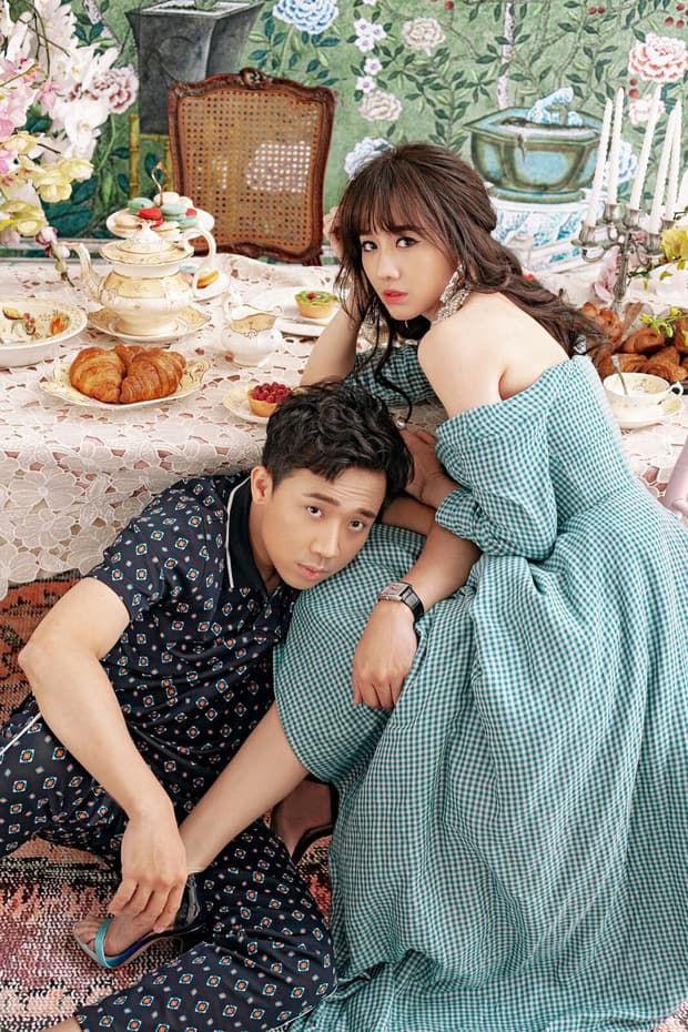 Hari Won tung tin nhắn ngọt hơn đường với Trấn Thành khiến các chị em phát hờn - Ảnh 1.