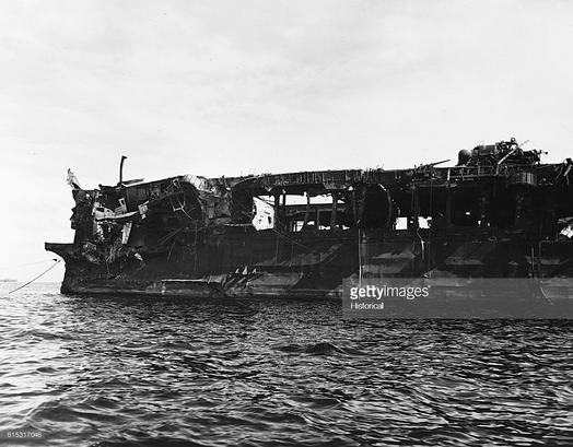 Kinh ngạc tàu sân bay Mỹ sống sót sau khi dính bom nguyên tử - Ảnh 6.
