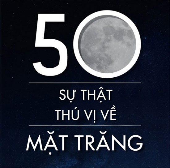 50 sự thật thú vị về mặt trăng - Ảnh 1.