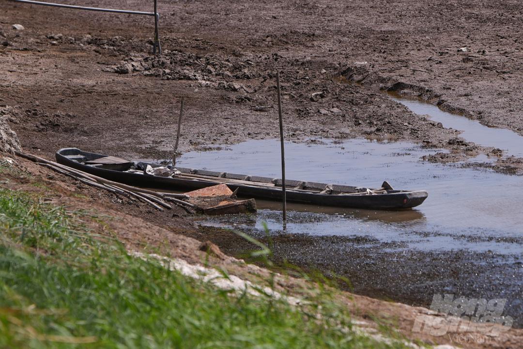 Hồ nước ngọt lớn nhất miền Tây cạn rặc, dân xuống mò cua bắt ốc kiếm sống qua ngày - Ảnh 6.