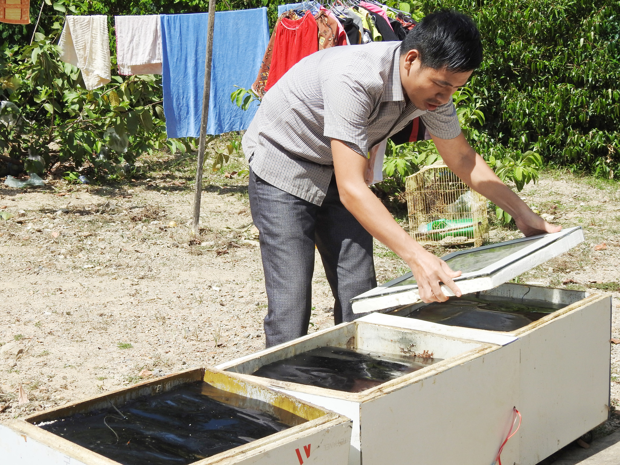 Quảng Bình: Thầy giáo trẻ đam mê nghiên cứu khoa học - Ảnh 3.
