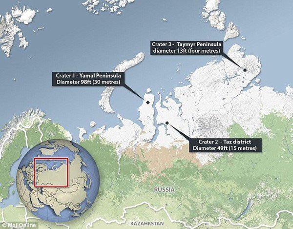 Hố địa ngục ở Nga giải mã tam giác quỷ Bermuda - Ảnh 2.