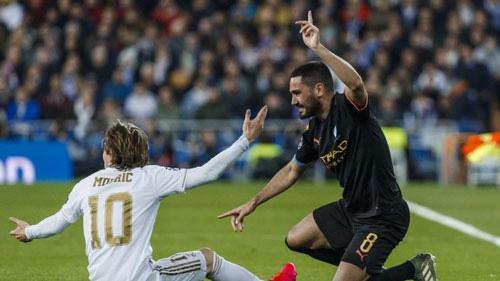Real Madrid thua Man City ở lượt đi