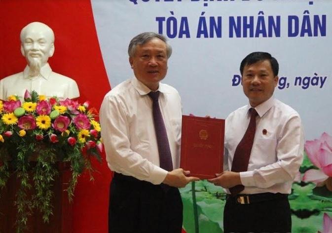 Phó Chánh án TAND Cấp cao tại Đà Nẵng vừa được Chánh án TANDTC Nguyễn Hòa Bình bổ nhiệm là ai?  - Ảnh 1.