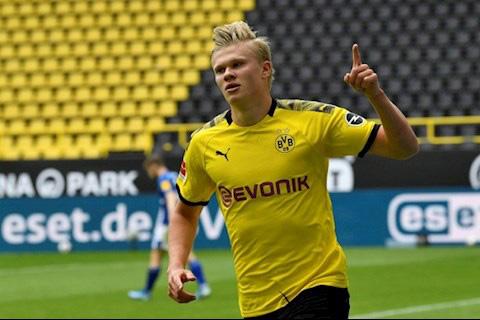 """Xé lưới Schalke, """"siêu Haaland"""" chinh phục cột mốc khủng - Ảnh 1."""