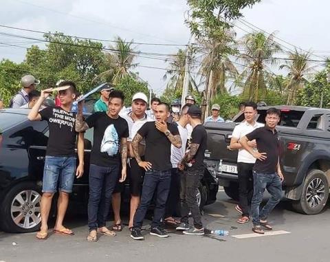 Ngày mai, xét xử nhóm giang hồ Giang '36' vây xe ô tô công an Đồng Nai - Ảnh 1.