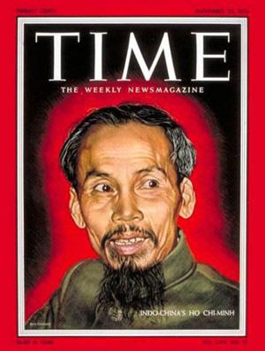 Chủ tịch Hồ Chí Minh và những lần trên bìa tạp chí Mỹ - Ảnh 1.