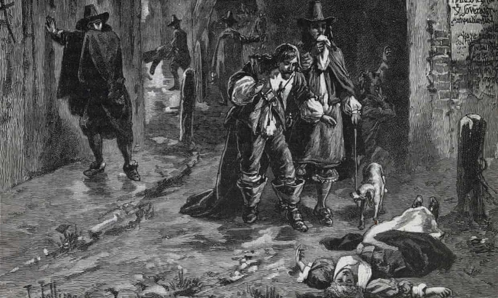 Tương đồng đáng kinh ngạc giữa dịch hạch năm 1664 và Covid-19 - Ảnh 1.