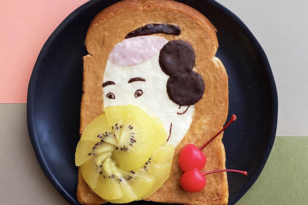 """Đốn tim với những """"tuyệt tác hội họa"""" trên lát bánh mì - Ảnh 2."""