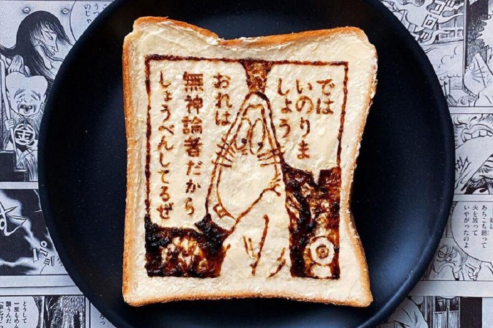"""Đốn tim với những """"tuyệt tác hội họa"""" trên lát bánh mì - Ảnh 8."""