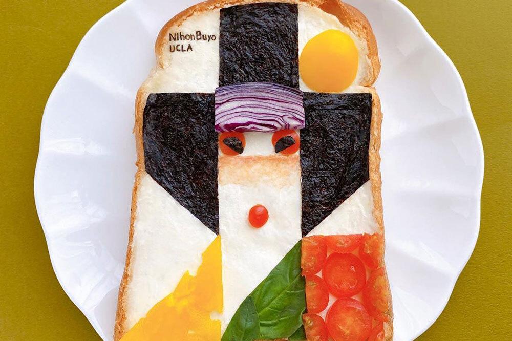 """Đốn tim với những """"tuyệt tác hội họa"""" trên lát bánh mì - Ảnh 5."""