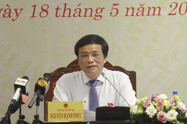 Vụ Hồ Duy Hải: Tổng Thư ký Quốc hội lên tiếng - Ảnh 1.