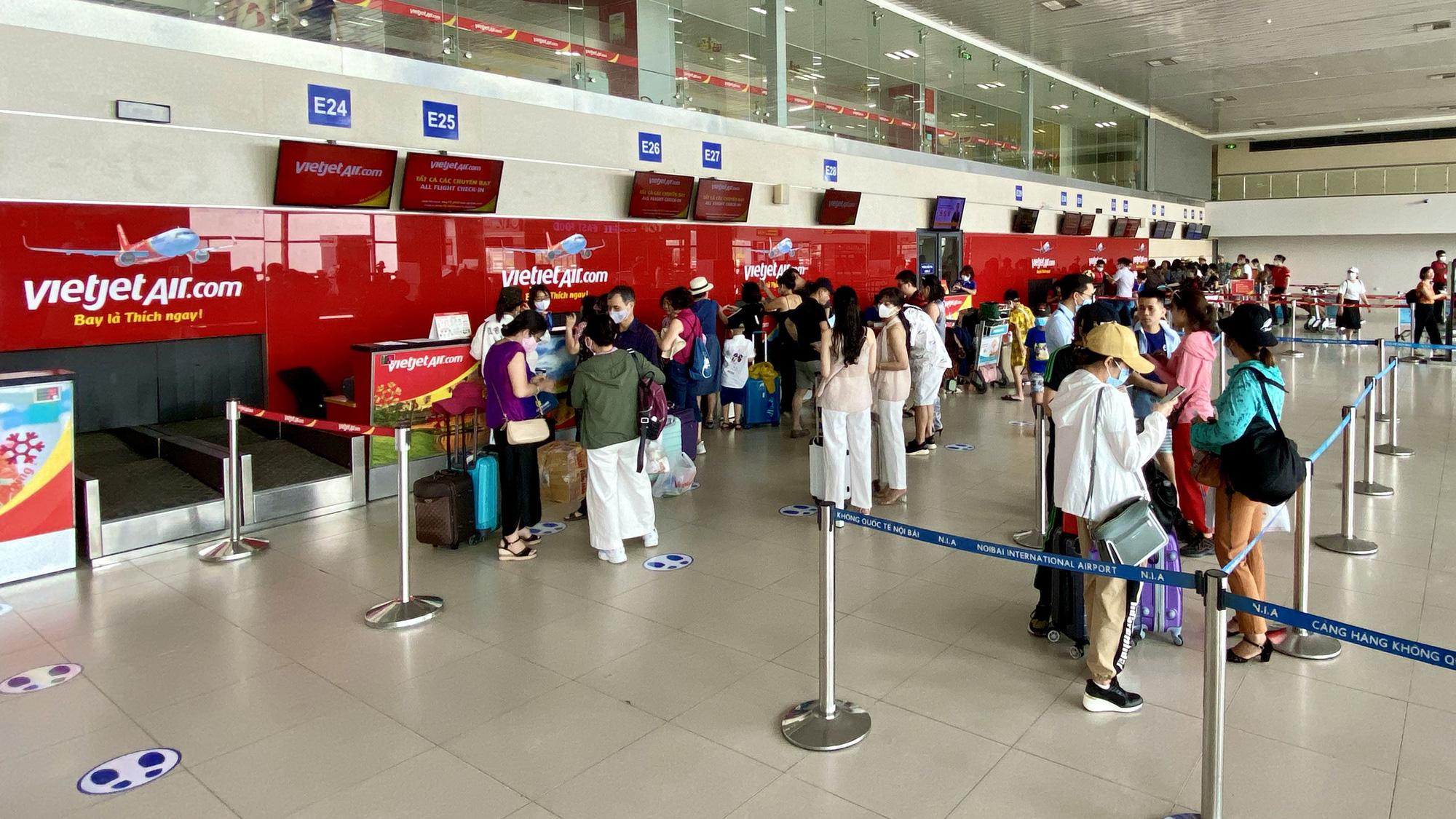 Điều chỉnh kế hoạch khai thác tại Nhà ga hành khách T1 – Cảng HKQT Nội Bài từ ngày 18/5/2020   - Ảnh 4.